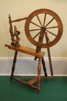 Wooden Spinning Wheel II by Pandora-Effekt