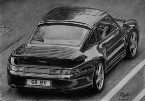 1995 Porsche 911 Turbo (993) by orhano