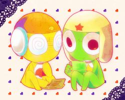 kururu and keroro by CaikoTanonaka
