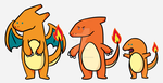 Charizard and friends by TorpidTiger
