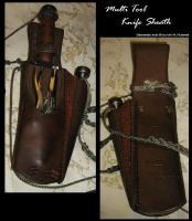 Square Riggers Knife Sheath V.2 by TrapperMitch