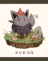 tricking zorua by ameru