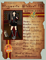 Hogwarts Student ID by Dregrith