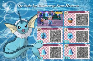 Vaporeon Dress and hat by Rasberry-Jam-Heaven