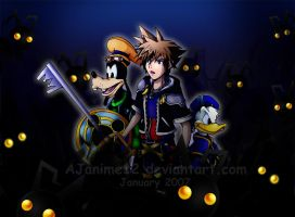 KH2: Surrounded by Darkness by AJanime12