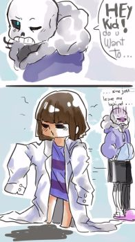 Sans xD by fly4level