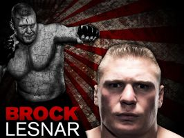 Brock Lesnar Wallpaper by xstortionist