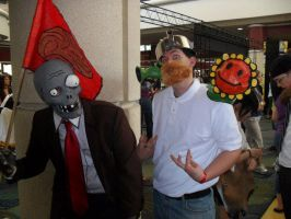 Plants vs Zombies Megacon 2011 by IHeartMarshmellowBoy