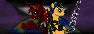 Ponies The Eclipse by GUNNEY-SGT-bob
