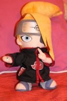 Deidara plush by DemonOfMist97