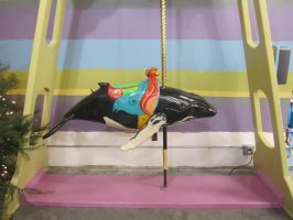 Little Carousel Whale by chamberstock