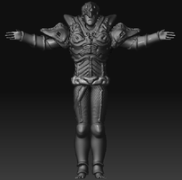 Unreal Tournament 3 char front by gunzet