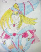 Dark Magician Girl by dragonloveruk