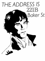The Address is 221B, Baker Street by Mr-Saxon
