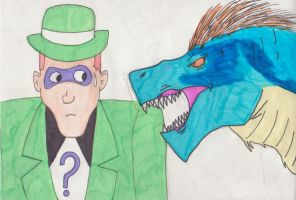 The Riddler by GeotrixQueen