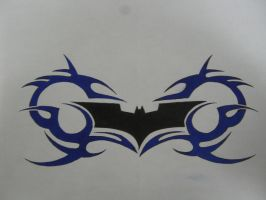 Batman Tribal by CR4ZY-CHR1S