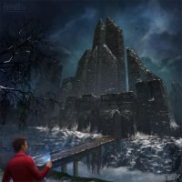 Winterheart castle by NaSyu