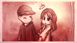 Monday Couple by Fierying