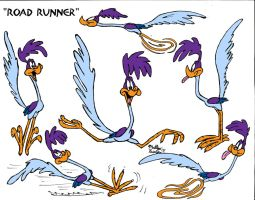 "Road Runner ""Model Sheet"" by MatthewHunter"