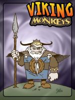 Another Viking Monkey by jerrycarr