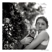 my little girl and her dog... by cweeks