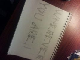 Part 1 of Gothic Font by Kristehhh
