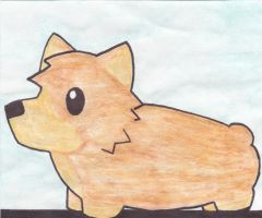 The Reddit Corgi by DeadWoodPete83