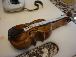 Viennese Violin detail by CakeandCaboodle