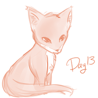 Day 13 The fox by OMGProductions