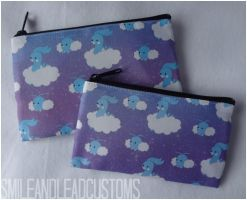 Swablu and Altaria Zipper Pouch by SmileAndLead