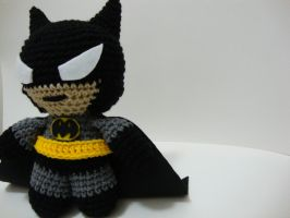 Arjeloops Batman Crochet Doll by Arjeloops