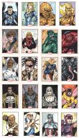 Marvel 70th Sheet 3 by Csyeung