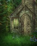 Wood House background by moonchild-lj-stock