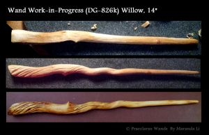 Work-in-Progress: Willow Twist by PraeclarusWands