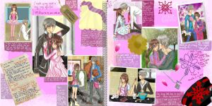 Yuki's scrapbook by Le-Vampire-Cat
