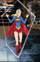 Supergirl trap2  Commission by mhunt
