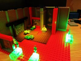 LEGO DOOM MARS in Bricks Shores of HELL by Digger318
