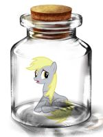Bottled Up Bonus: Derpy Hooves by Songbreeze741