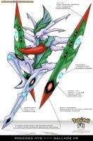 Pokedex 475 - Gallade FR by Pokemon-FR
