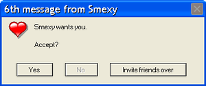 6th message from Smexy by Jamiecheater