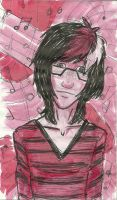 Geek in the Pink by thePhobiaofEddyGrace