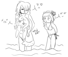 PP: Beach Fun.. Or Not. by maddmouse
