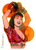 Bettie Page Champ by markmchaley