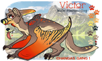 CE: Victor the Pteranodog! by stridays
