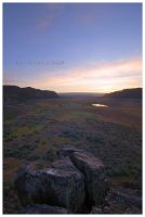 Coulee Sundown by Raymaker