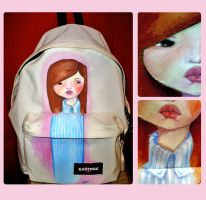 custom eastpak by Nana-viciouS