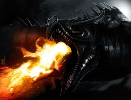 Alduin by TheRisingSoul