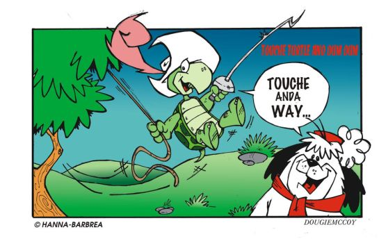 Touche Turtle and Dum Dum by dougie-mccoy