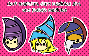 dm, dmg, and gagaga magician by BoSimba