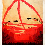Movie Poster The War of the Worlds (animated GIF) by le0arts